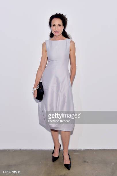 Andie MacDowell attends COS and Margaret Qualley celebrate LA Dance Project's LA Dances at LA Dance Project on September 21 2019 in Los Angeles...