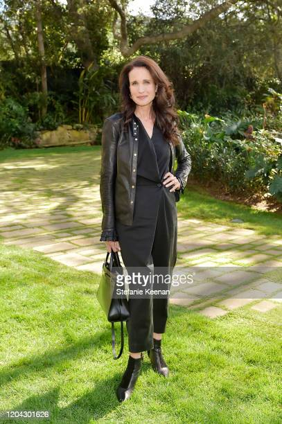 Andie MacDowell attends Diane von Furstenberg and Academy Museum of Motion Pictures Host 6th Annual Oscars Luncheon to Celebrate Female Nominees at...