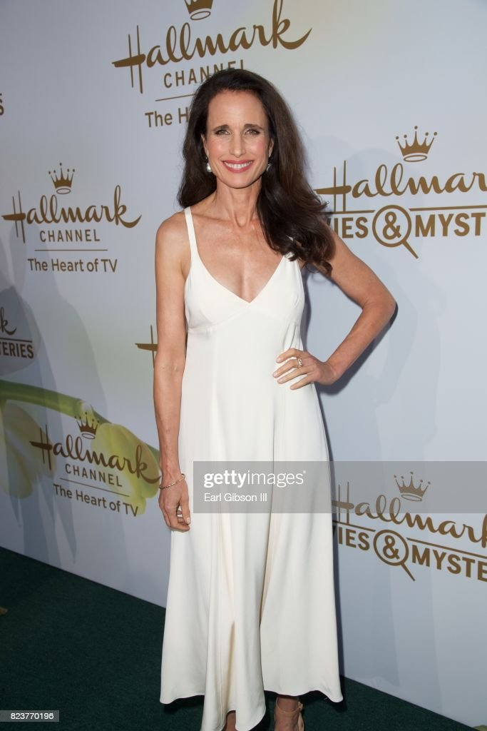 Andie MacDowell attends the 2017 Summer TCA Tour-Hallmark Channel And Hallmark Movies And Mysteries at a private residence on July 27, 2017 in Beverly Hills, California.