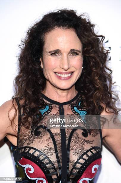 Andie MacDowell attends the 2018 Glamour Women Of The Year Awards Women Rise on November 12 2018 in New York City
