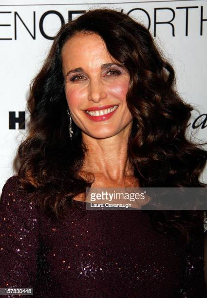 Andie MacDowell attends the 7th annual Women Of Worth Awards at Hearst Tower on December 6 2012 in New York City