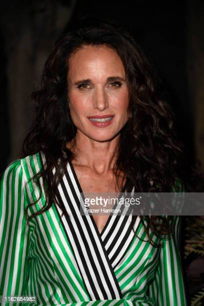 Andie MacDowell attends the Brain Health Initiative 100th Anniversary Of Women's Suffrage Gala at Eric Buterbaugh Los Angeles on July 17 2019 in Los...