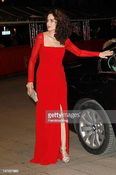 Andie Macdowell attends the 'Captive' Premiere during day four of the 62nd Berlin International Film Festival at the Berlinale Palast on February 12...