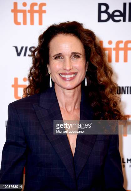Andie MacDowell attends the 'Donnybrook' premiere during 2018 Toronto International Film Festival at Winter Garden Theatre on September 7 2018 in...