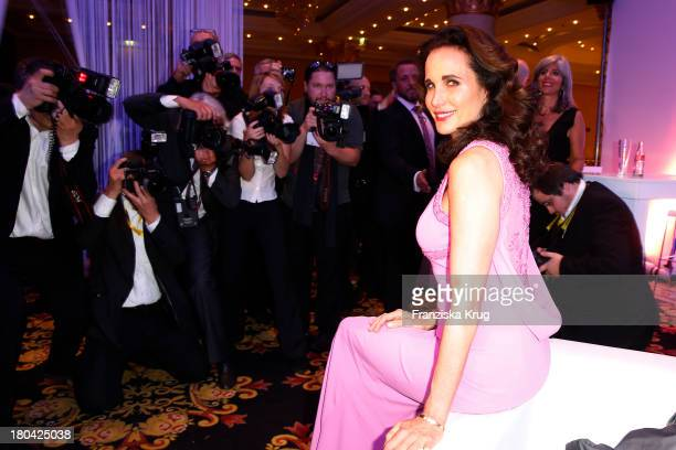 Andie MacDowell attends the Dreamball 2013 charity gala at Ritz Carlton on September 12, 2013 in Berlin, Germany.