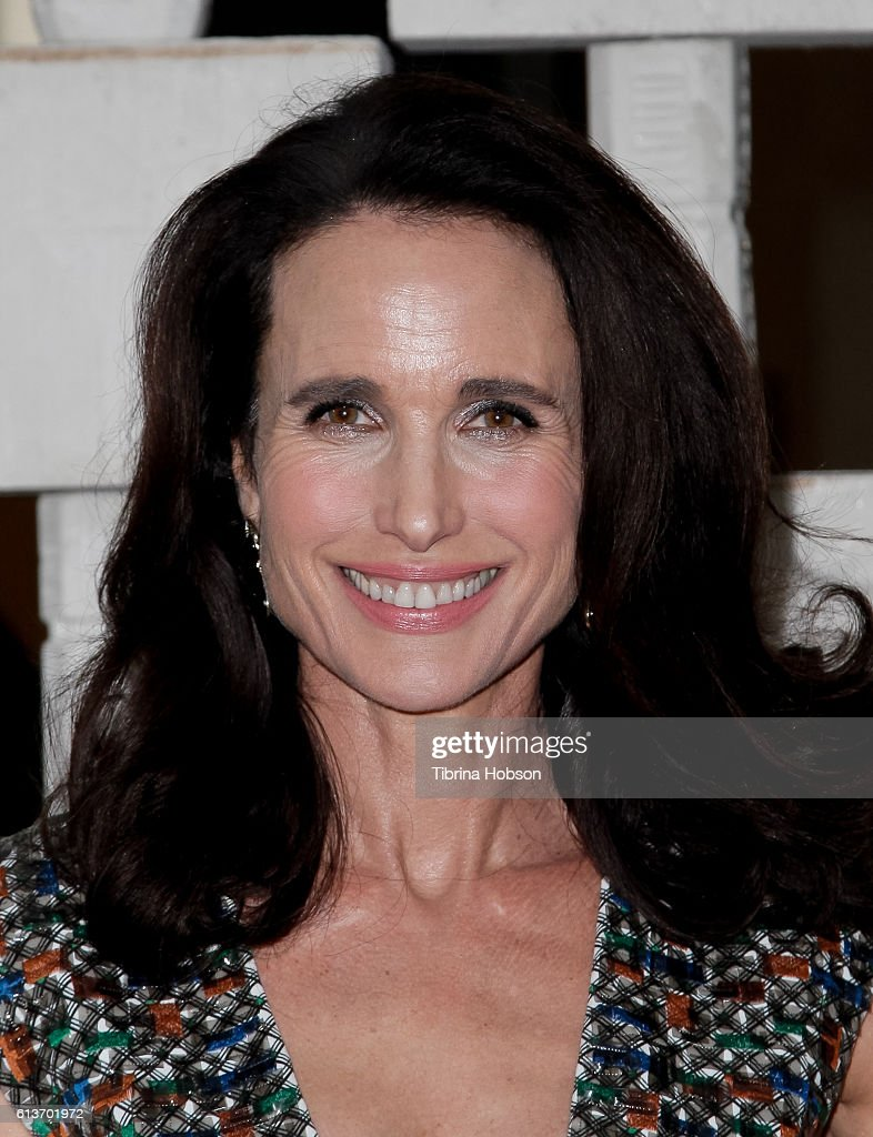 Andie MacDowell attends the Hammer Museum's 14th annual Gala In The Garden at Hammer Museum on October 8, 2016 in Westwood, California.