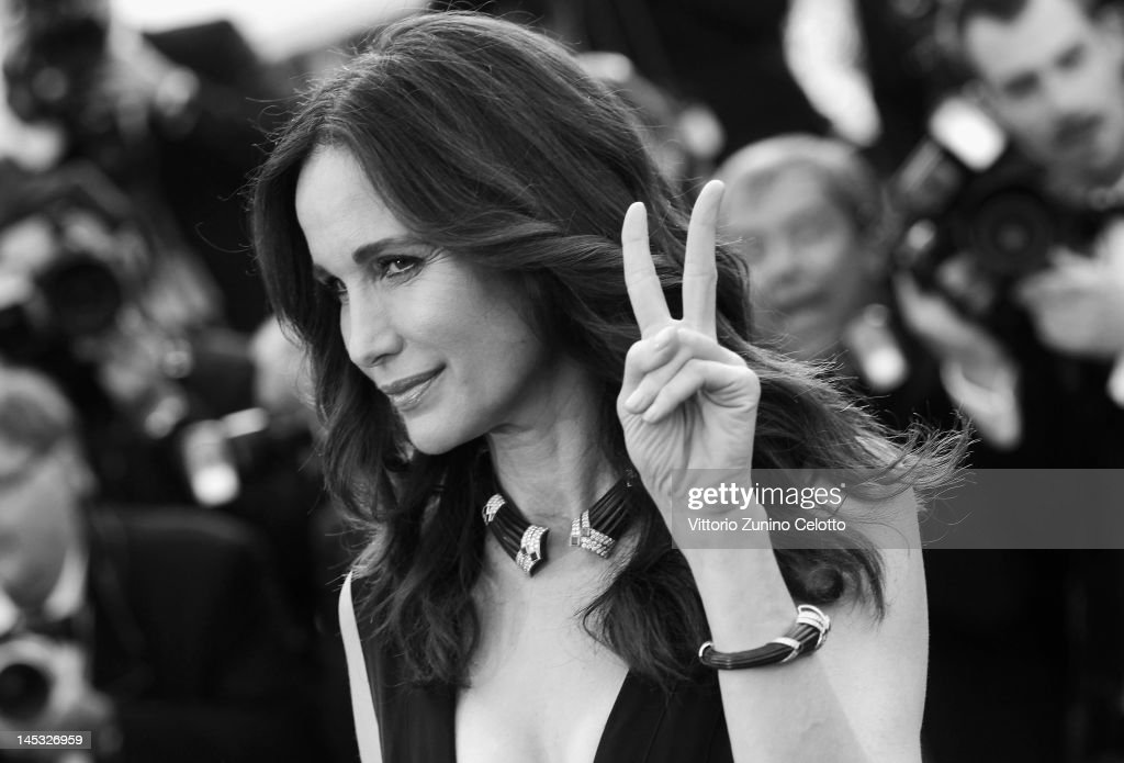 Andie MacDowell attends the 'Mud' Premiere during the 65th Annual Cannes Film Festival at Palais des Festivals on May 26, 2012 in Cannes, France.
