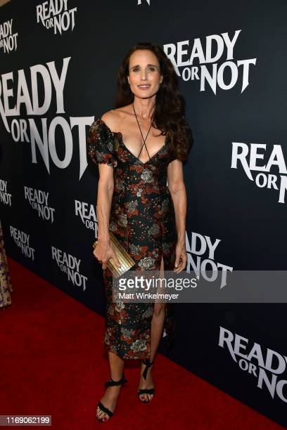 Andie MacDowell attends the LA Screening Of Fox Searchlight's Ready Or Not at ArcLight Culver City on August 19 2019 in Culver City California