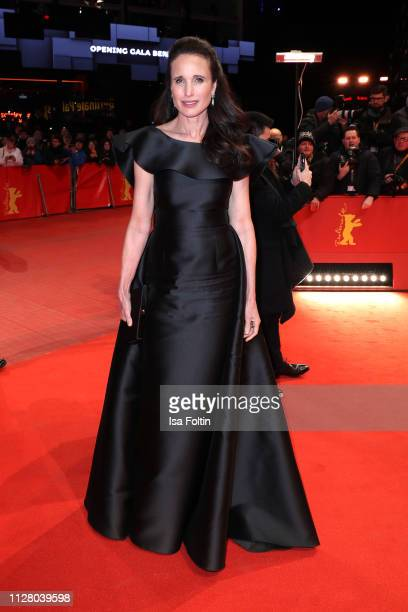 Andie MacDowell attends the The Kindness Of Strangers premiere during the 69th Berlinale International Film Festival Berlin at Berlinale Palace on...
