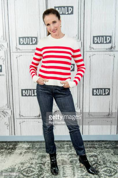 Andie MacDowell discusses 'Love After Love' with the Build Series at Build Studio on March 30 2018 in New York City
