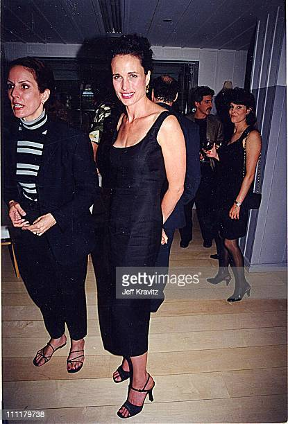 Andie MacDowell during 1999 Esquire Magazine party for Eyes Wide Shut in Los Angeles California United States