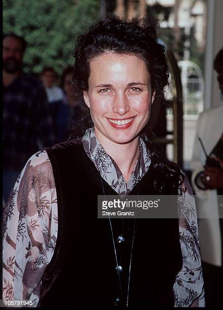 Andie MacDowell during 2nd Annual Premiere Magazine's Women in Hollywood Awards at Four Seasons Hotel in Beverly Hills California United States