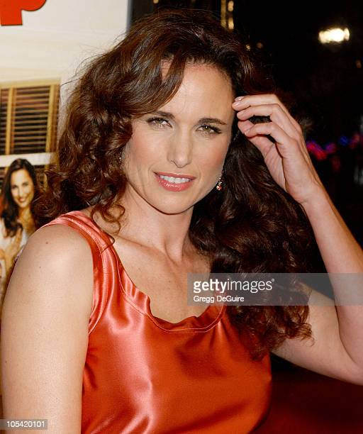 Andie MacDowell during 'Beauty Shop' World Premiere Arrivals at Mann National Premiere in Westwood California United States