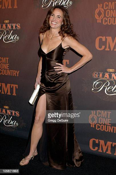 Andie MacDowell during CMT Giants Honoring Reba McEntire Arrivals at Kodak Theatre in Hollywood California United States