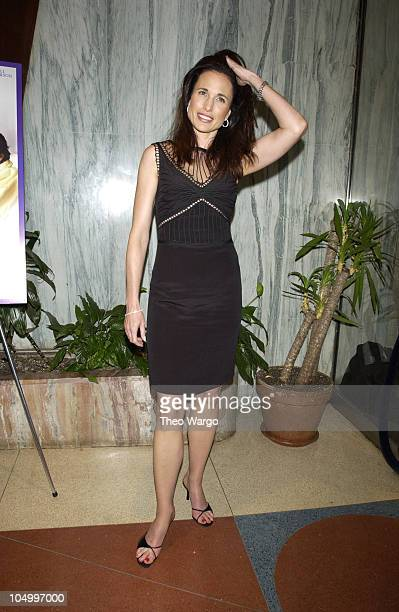 Andie MacDowell during 'Crush' New York Premiere Presented by Sony Pictures Classic's More Magazine at The Clearview Beekman Theatre in New York City...