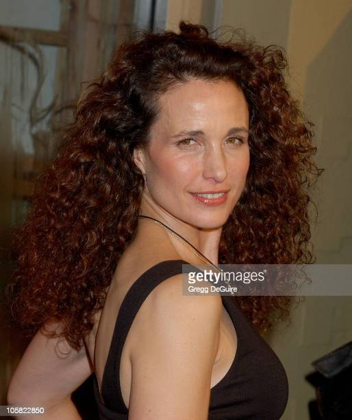 Andie MacDowell during 'Dreamgirls' Los Angeles Premiere Arrivals at Wilshire Theatre in Beverly Hills California United States