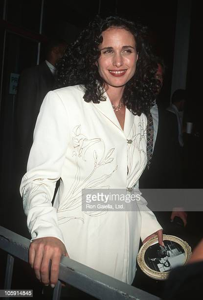 Andie MacDowell during Industry Screening of 'Unstrung Heroes' at Writers Guild of America Theater in Beverly Hills California United States