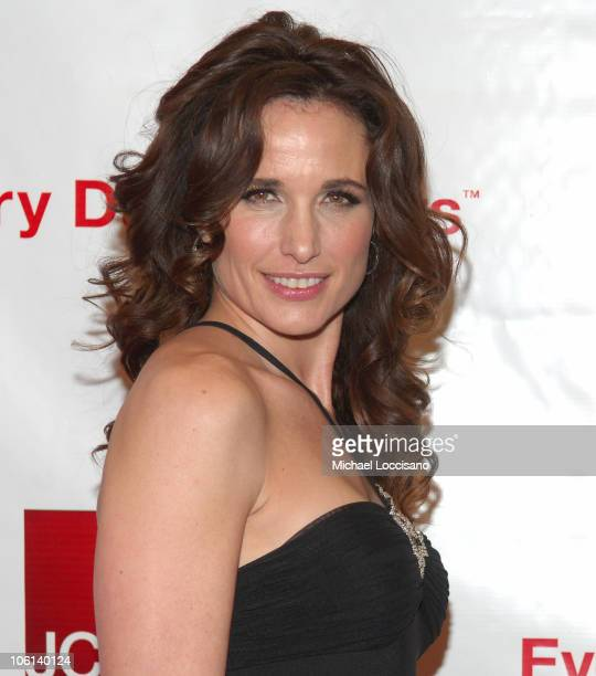 Andie MacDowell during Jewel and Andie MacDowell Host the Unveiling of JCPenney's New Brand Positioning at Hammerstein Ballroom in New York New York...