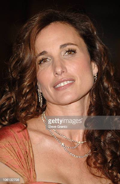 Andie MacDowell during MercedesBenz Presents the 17th Carousel of Hope Ball Arrivals at Beverly Hilton Hotel in Beverly Hills California United States