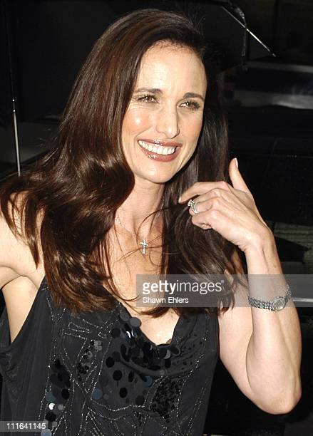 Andie MacDowell during Opening Of Jimmy Choo Flagship Store In New York at Jimmy Choo Flagship Store in New York NY United States
