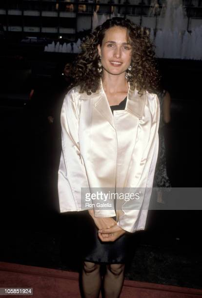 Andie MacDowell during 'Sex Lies Videotape' Los Angeles Premiere at Cineplex Odeon Century Plaza in Century City CA United States