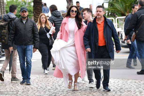 Andie MacDowell is seen during the 72nd annual Cannes Film Festival at on May 19 2019 in Cannes France