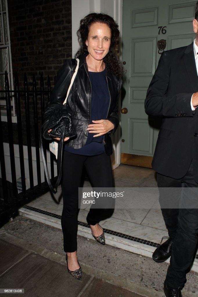 London Celebrity Sightings -  May 26, 2018
