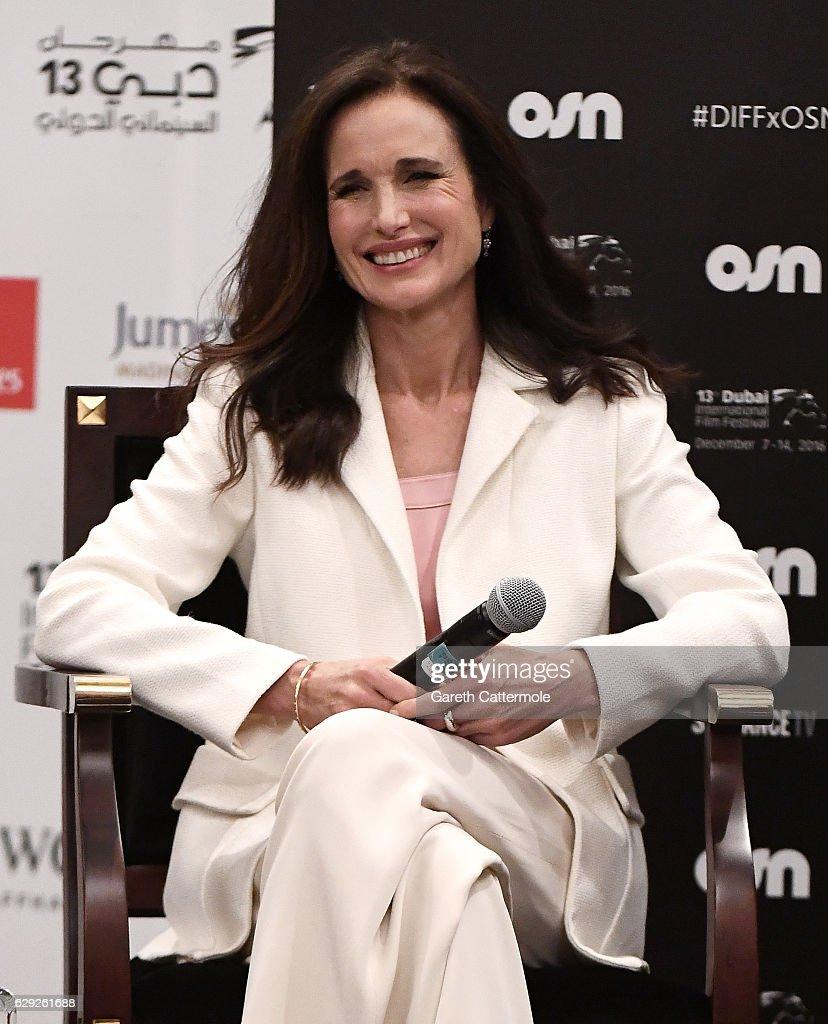 2016 Dubai International Film Festival - Day 6 : Nachrichtenfoto