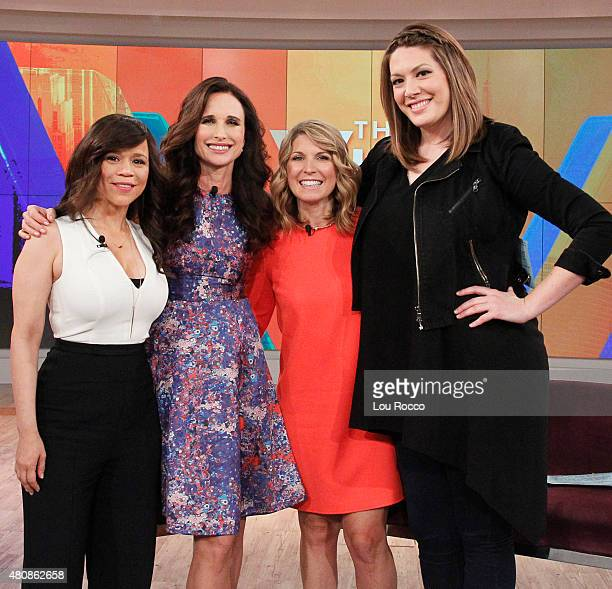 THE VIEW Andie MacDowell transgender teen Jazz Jennings and her mom Jeanette 'The View' kicks off its 'Jukebox Jam' series with The Flamingos...