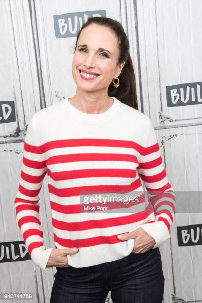Andie MacDowell visits Build Series to discuss 'Love After Love' at Build Studio on March 30 2018 in New York City