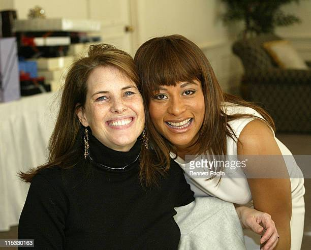 Andie Simon and Mignon Espy during Mignon Espy Bridal Shower at The Plaza Athene Hotel in New York City February 26 2007 at The Plaza Athene Hotel in...