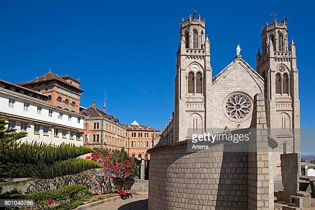 Andohalo Cathedral in Antananarivo capital city of Madagascar Southeast Africa