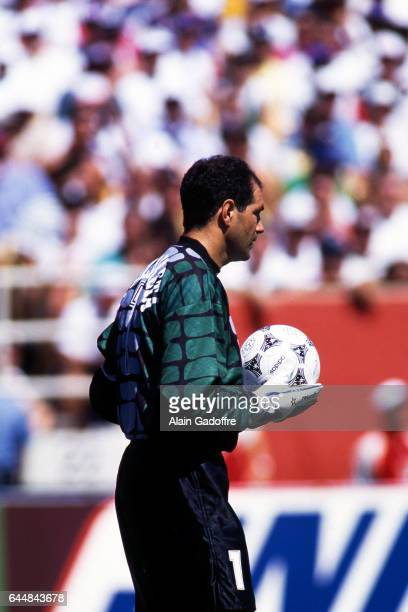 Andoni Zubizarreta Allemagne / Espagne Coupe du Monde 1994 Photo Alain Gadoffre / Icon Sport