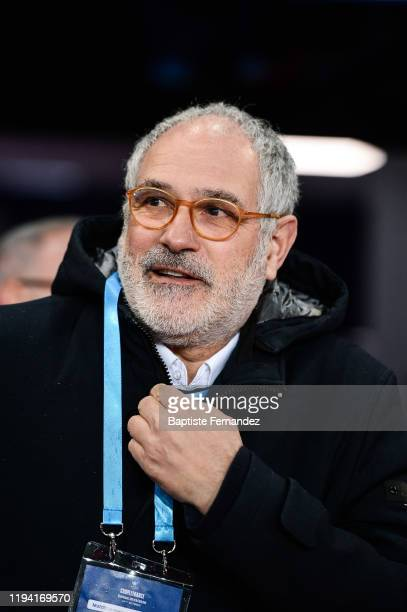 Andoni ZUBIZARRETA sporting director of Marseille before the French Cup Soccer match between US Granville and Olympique de Marseille at Stade Michel...
