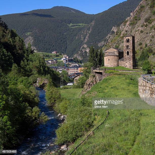 Andorra in the southern Pyrenees