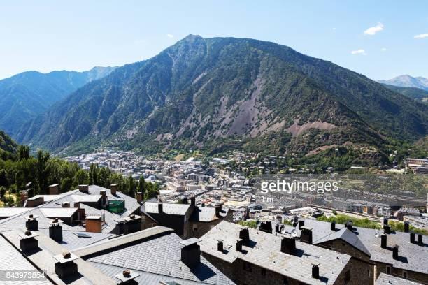 Andorra la Vella - caiptal of Andorra (Andorra)