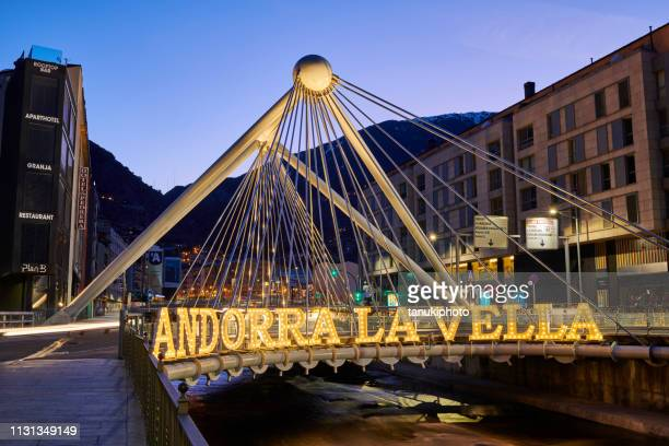andorra la vella - andorra la vella stock pictures, royalty-free photos & images