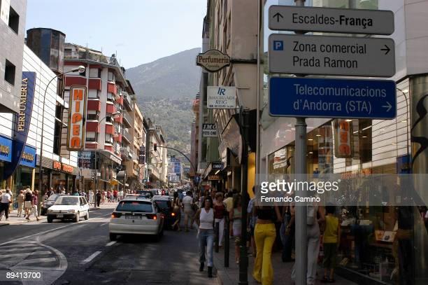 Andorra la Vella Principado de Andorra Shop Zone