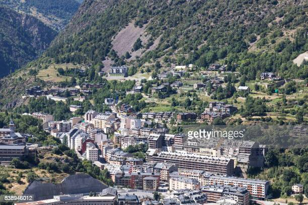 Andorra la Vella - residential district (Andorra)