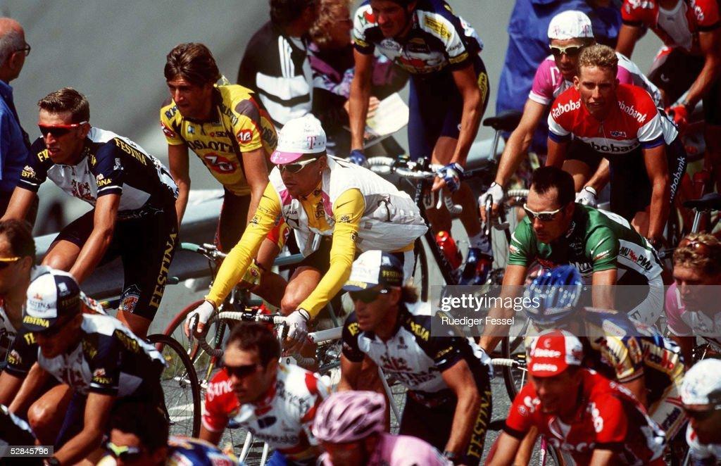 RADSPORT: TOUR DE FRANCE 1997, 11. ETAPPE, Andorra : ニュース写真