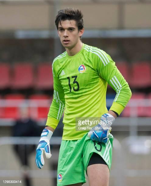 Iker in action for Andorra