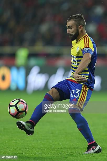Andorra's defender Jordi Rubio during FIFA 2018 World Cup Qualifier between Portugal and Andorraat Estadio Municipal de Aveiro on October 07 2016 in...