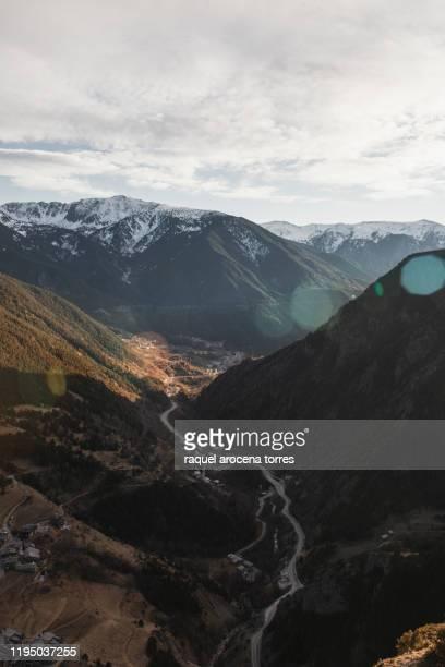 andorra´s landscape - andorra fotografías e imágenes de stock