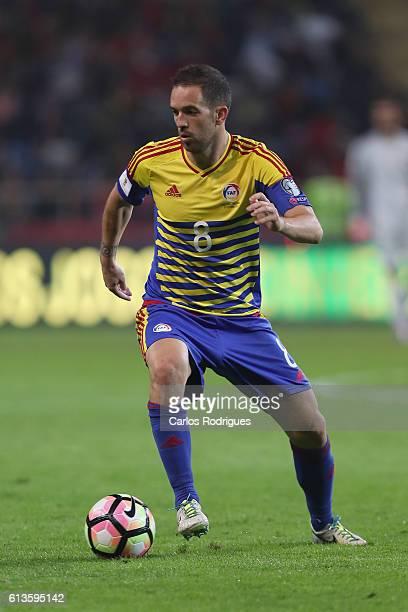 Andorra's midfielder Marcio Vieira during FIFA 2018 World Cup Qualifier between Portugal and Andorraat Estadio Municipal de Aveiro on October 07 2016...