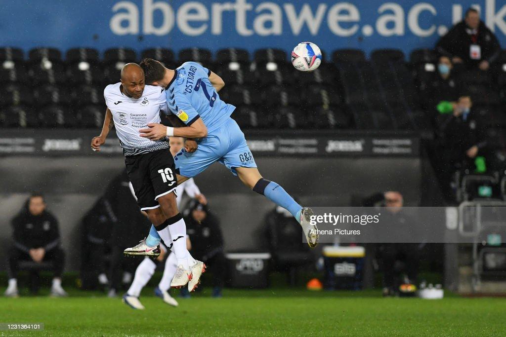 Swansea City v Coventry City - Sky Bet Championship : News Photo