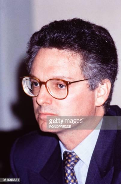 André Desmarais, homme d'affaires, en mai 1993, Canada.