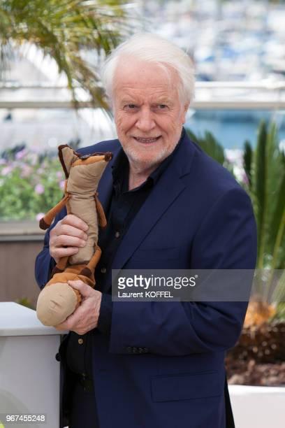 André Dussolier lors du photocall du film 'Le Petit Prince' pendant le 68eme Festival du Film Annuel au Palais des Festivals le 22 mai 2015, Cannes,...