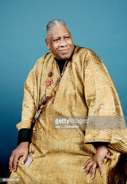 André Leon Talley former Vogue Magazine editoratlarge from the film 'The Gospel According to Andre' poses for a portrait at the 2017 Toronto...