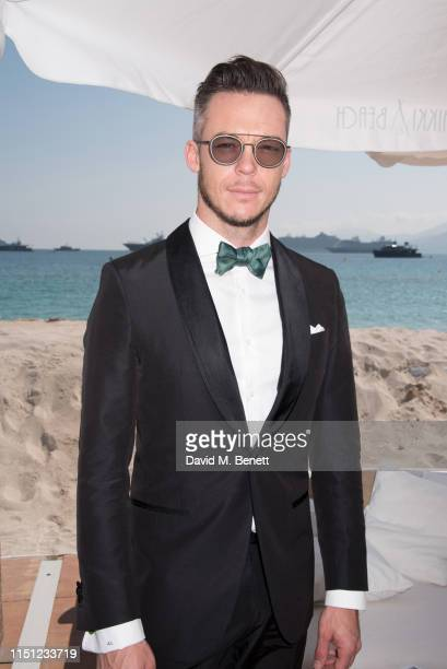 André Lotterer attends a cocktail party hosted by Alejandro Agag ahead of the World Premiere of the Formula E documentary And We Go Green during the...
