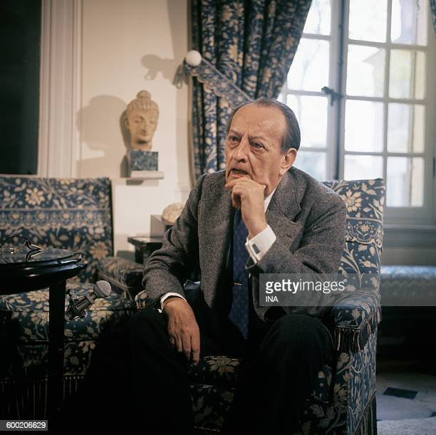 André Malraux interviewed at his home in VerrièresleBuisson by Jean Marie Drot about his book
